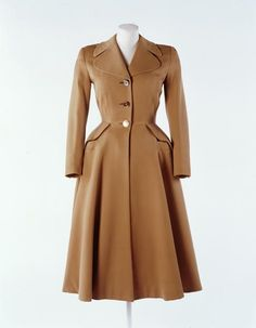 Hardy Amies, Wool coat, 1949