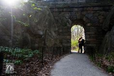 NY's Central Park Engagement Photos by Michael Justin Films