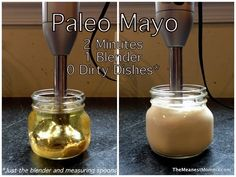 Simple and easy Paleo Mayo
