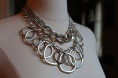 Premier Designs Round About and Link to Link necklaces.  I sell Premier Designs Jewelry!  Contact:  SHANNON W. SCHMIDT  Email: shannonsjewels@yahoo.com Phone: 703 606 0237