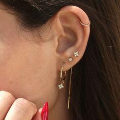 Piercing Imitation Black Criss Cross Ear Ring/Cartilage X Ear Cuff/twisted X ear hoops/fake conch ear piercing/ohrclip oreille manchette - Custom Jewelry Ideas Ear Jewelry, Dainty Jewelry, Cute Jewelry, Women Jewelry, Fashion Jewelry, Jewelry Making, Jewellery Earrings, Gold Jewelry, Jewelry Accessories