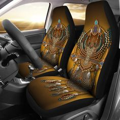 Owl Car Seat Covers Perfect Gifts for your Father, Mother, Girlfriend. Father's day, Mother's day, Birthday Gift Idea for Dad/Grandpa And Everyone You Love. Ford Focus Car, Diy Auto, Diy Interior Doors, Car Buying Tips, Car Essentials, Motorcycle Seats, Bicycle Accessories, Leather Tooling, Tooled Leather