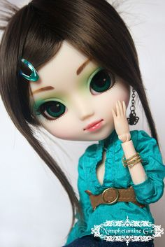 Rikku (Pullip Prunella) by ·Nymphetamine Girl·, via Flickr