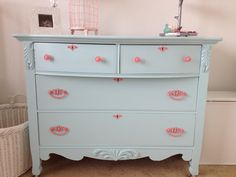 Painting baby furniture by the Three Little Birdies: {Project: Nursery} Furniture Paint