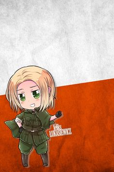 XD POLAND!! Never been so happy to be polish after I watched this anime