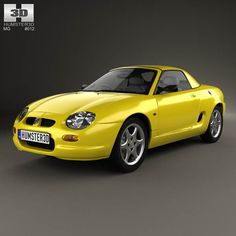 MG F 1999 3d model from humster3d.com. Price: $75