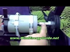 Free Wind Power Generator Plans Instructions - YouTube