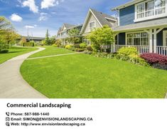 Envision Landscaping is residential and #commercial #landscaping and maintenance company in Edmonton. We are engaged in major installation projects for landscaping, erosion control, drainage systems, outdoor lighting etc. https://bit.ly/2IwmVhR