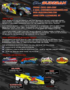 Race Car Sponsorship Template | Click Here to view my sponsorship ...