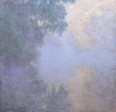 Branch of the Seine near Giverny (Mist), from the series Mornings on the Seine 1897 Claude Monet