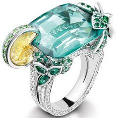 Piaget Limelight 'True' Cocktail Rings