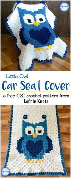 Use the C2C crochet technique to make a personalized car seat canopy with this free pattern! This pattern is perfect for anyone wanting to learn the C2C technique with a video tutorial ready to get you started. A perfect project for your next DIY baby sh