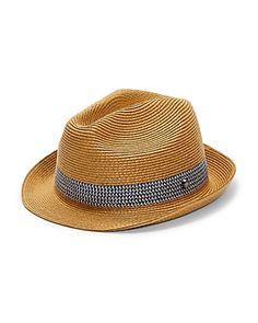 4b0af4fe5cd0d TED BAKER LEMONY STRAW TRILBY HAT.  tedbaker
