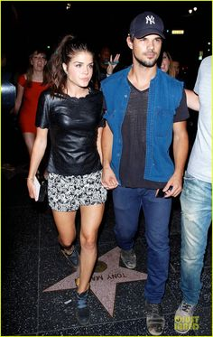 Taylor Lautner & Girlfriend Marie Avgeropoulos Are Still Going Strong at Hollywood Concert | taylor lautner marie avgeropoulos strong hollywood 08 - Photo