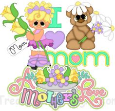 Mother's Day Trio - Treasure Box Designs Patterns & Cutting Files (SVG,WPC,GSD,DXF,AI,JPEG)