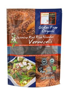 These thin noodles are in 1 oz. nests to provide the perfect portion for each person when you are cooking up side dishes, soups, or stir fry.  Gluten-Free, Organic, Vegan, Kosher