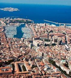 France. City of Marseille from the air