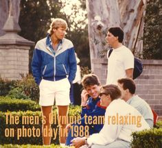 Photo day 1988 with the USA Volleyball men's team
