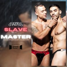 Andrew Christian Exclusive Underwear Collection for Master & Slave