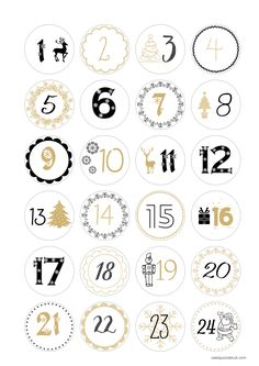 noel_avent What is this noise? Christmas Tags Printable, Christmas Calendar, Holiday Gift Tags, Christmas Books, Christmas Countdown, Advent Calenders, Diy Advent Calendar, Simple Christmas, Christmas Holidays