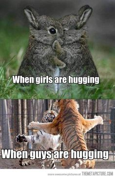 I love tight hugs... I never hug like most of my girl friends, they all hug so lightly... -Julia << true! ~Frannie