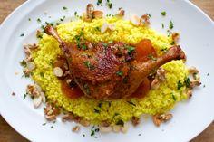 Moroccan Duck and Apricot Tagine