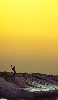 surfing#sunset