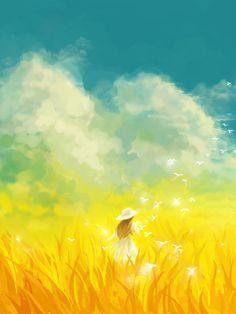 Pretty Drawings, Art Drawings For Kids, Anime Flower, Cute Emoji Wallpaper, Illusion Art, Anime Scenery, Pretty Art, Anime Art Girl, Illustration Art