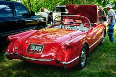 1954 Chevrolet Corvette by Mark Summerfield