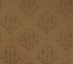 Capturing charm with old-world elegance, Miranda #wallpaper has beautifully worn medallions in a variety of natural, yet sophisticated color choices. Featured here in #chestnut from the Neutral Resource collection. #Thibaut