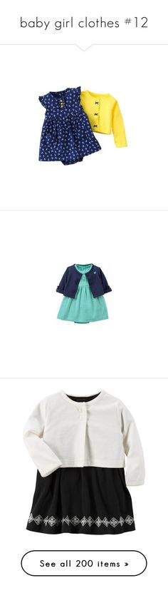 """baby girl clothes #12"" by elisabeth-galfano ❤ liked on Polyvore featuring baby, baby clothes, baby girl clothes, kid's, kids clothes, baby girl, kids, dresses, children clothes and mink pink dress"