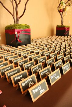 PLEASANT SURPRISE EVENTS: Christina and Jason, Part 2 School themed wedding/Musical themed reception