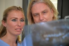 Planung einer operativen Entfernung von Weisheitszähnen - hier zusammen mit Zahnarzt Berlin Dr.Seidel