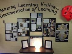 Colonel Walker School: Reggio Inspired Learning - Power of Documentation Reggio Emilia Classroom, Reggio Inspired Classrooms, Classroom Displays, Preschool Classroom, Teaching Kindergarten, Birthday Display In Classroom, Reggio Emilia Preschool, Teach Preschool, Preschool Lessons