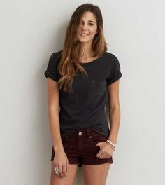 AEO Favorite Pocket T-Shirt - Buy One Get One 50% Off