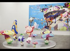 "Takashi Murakami's ""Ego"" Exhibition At Al Riwaq Exhibition Hall In Doha, Qatar"