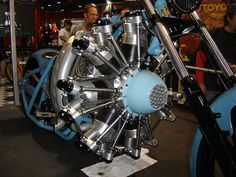 jesse james bikes   Jesse James radial engine motorcycle   Flickr - Photo Sharing!