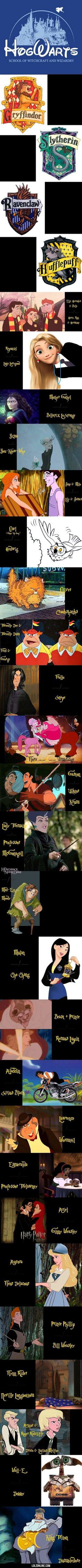 If Harry Potter was made by Disney #lol