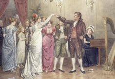 On the Dance Floor by George Goodwin Kilburne - art print from King & McGaw