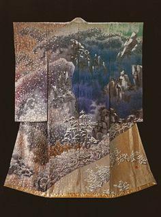 Kimono by Itchiku Kubota