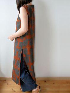 ロングチュニック | コッカファブリック・ドットコム|布から始まる楽しい暮らし|kokka-fabric.com