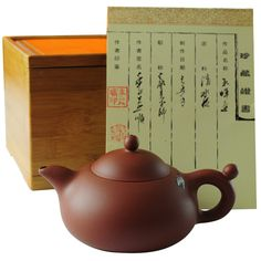 Zisha Clay Teapot Hand Made with Cicada Design | Shop China