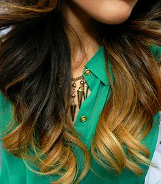Ombre Look DIY  #ombre #look #diy #fashion #hair #styles #hairstyles