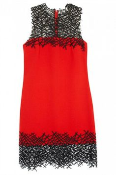 Christopher Kane Macrame Wool Crepe Dress, £1,400 - New Year's 2013: What To Wear AND How To Wear It