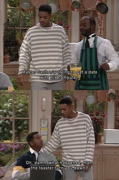 The Fresh Prince of Bel-Air. Hahahahahahahahahahahahahahahaha