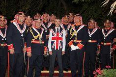 British Ambassador Peter Millett at the Queen's Jubilee Celebration in Jordan