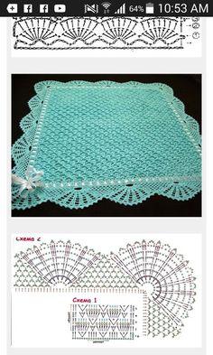 Crochet Cocoon Pattern, Free Crochet Doily Patterns, Crochet Motifs, Granny Square Crochet Pattern, Bobble Stitch Crochet, Crochet Cord, Crochet Bedspread, Baby Afghan Crochet, Crochet Table Runner Pattern