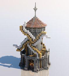 Medieval Mondays Windmill Minecraft Project - Minecraft World Minecraft Medieval Buildings, Architecture Minecraft, Minecraft Castle Blueprints, Pixel Art Minecraft, Minecraft Farm, Minecraft Structures, Minecraft Plans, Minecraft Survival, Architecture Design
