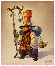 Inspiration Gnome by Atomic-Hermit on deviantART