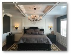 Image result for coffered bedroom ceiling